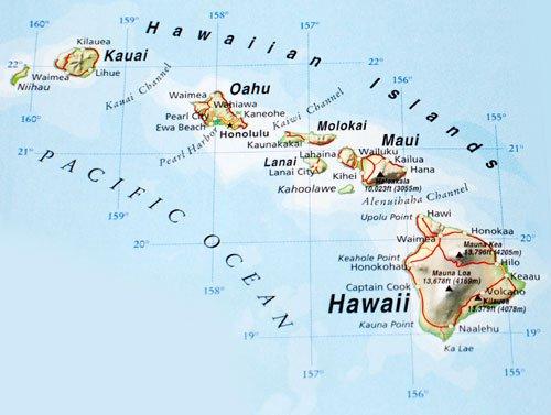 hawaiian-islands-map